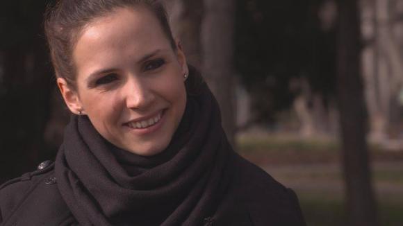 Keszthelyi Rita Európa-bajnok vízilabdázó