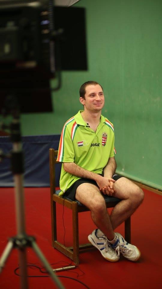 Csonka András paralimpiai ötödik helyezett asztaliteniszező