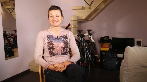 Benkó Barbara junior világbajnoki ezüstérmes hegyikerékpáros