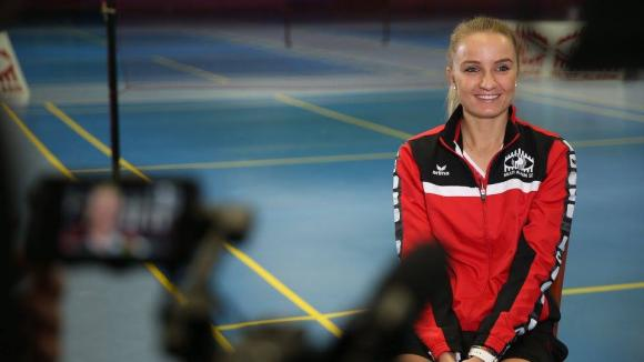 Sárosi Laura magyar bajnok tollaslabdázó